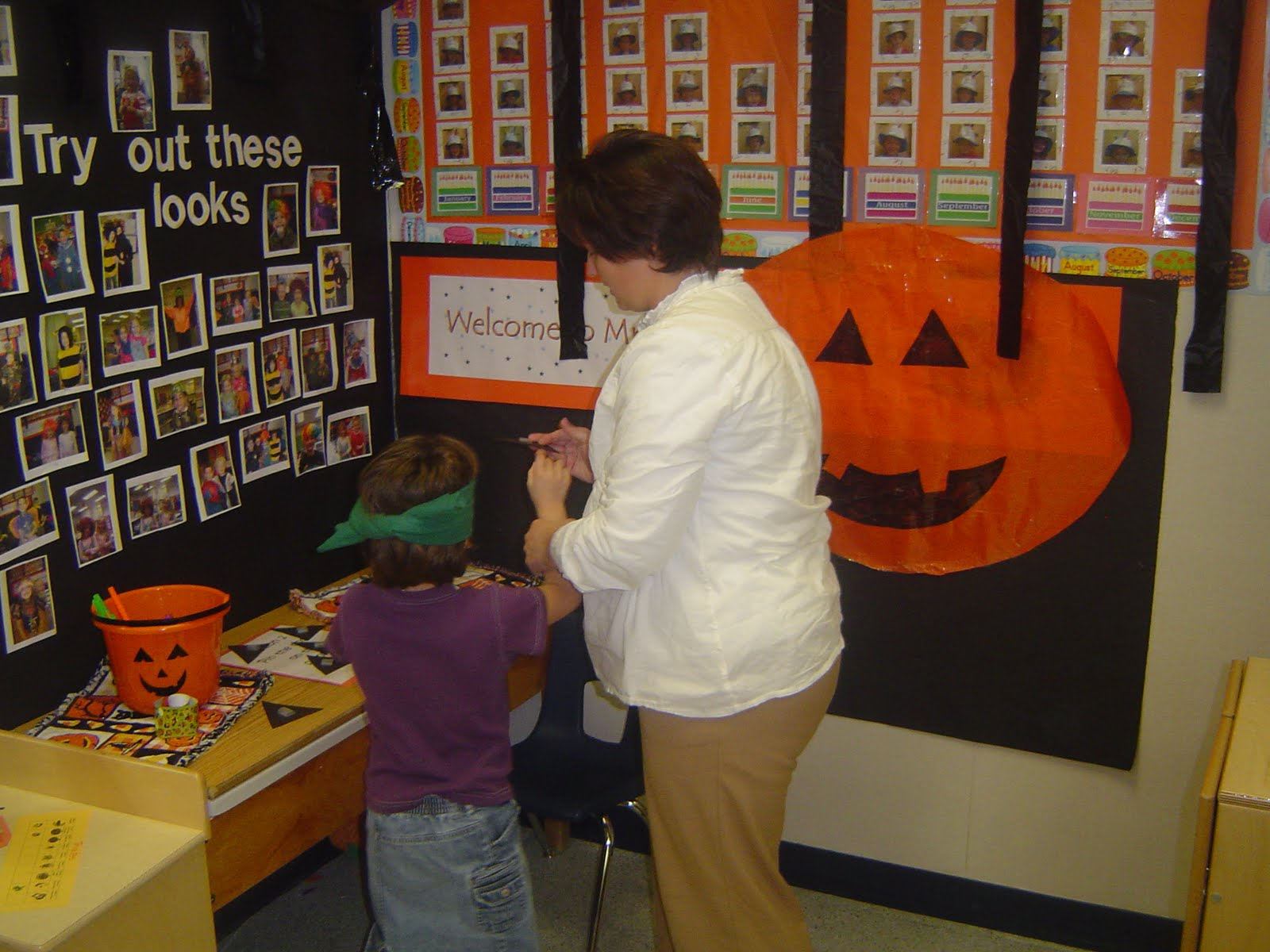 mrs ts first grade class halloween games