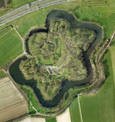 Fort Vechten desde Google Earth