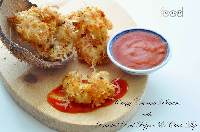 Crispy Coconut Prawns ~ Simple Food