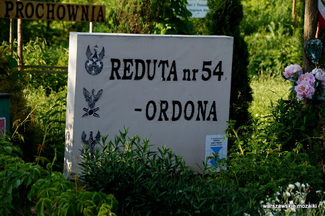 Na Bateryjce Warszawa Ochota reduta nr 54