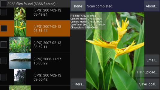 برنامج استعادة الصور والملفات المحذوفه للاندرويد - DiskDigger undelete Apk