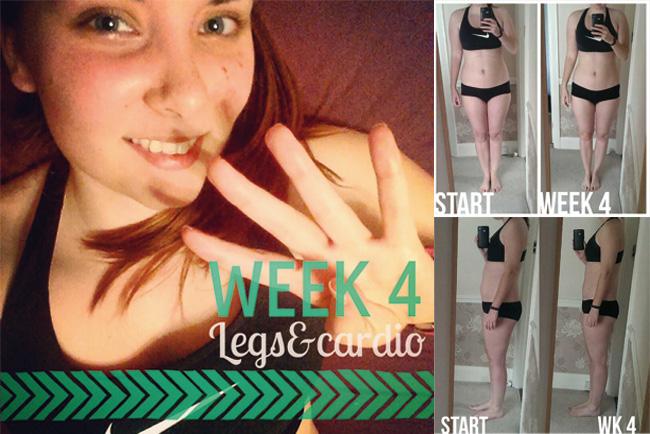 Kayla Itsines Bikini Body Guide Week 4 review