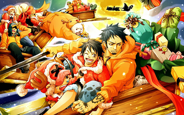 One Piece Anime Christmas 6d