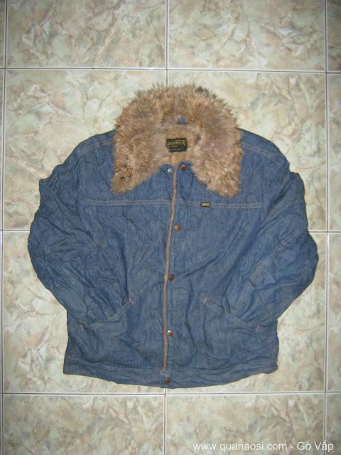 Áo khoác jean lót lông đẹp từ USA giá rẻ 550k, Quần Áo hàng thùng
