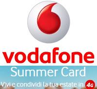 Promozioni Summer Card 2015 di Vodafone: prezzo e dati disponibili per navigare in internet
