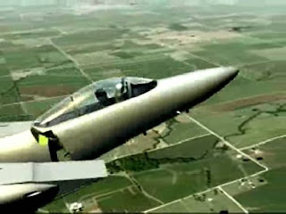 F-15 Jet Comes Apart in Flight