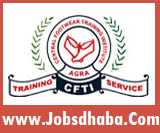 Central Footwear Training Institute, CFTI Agra Recruitment, Jobsdhaba, Sarkari Naukri