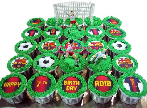 Birthday Cupcake Edible Image Barcelona