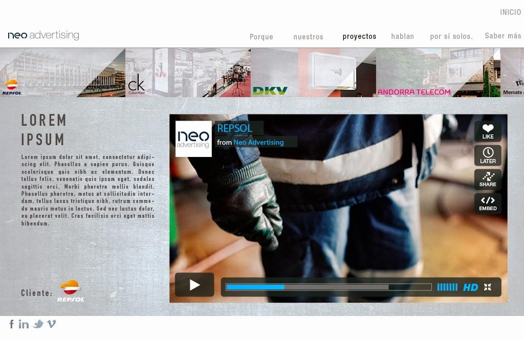 Reel de www.neoadvertising.es