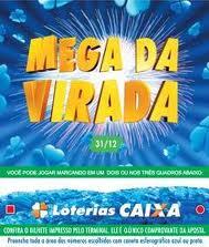 mega sena virada 2012 2013 Mega sena da virada 2012/2013 vai pagar R$ 230 milhões