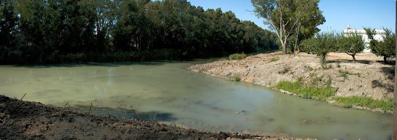 Desembocadura del Buitrago en el Guadalete (septiembre 2011)