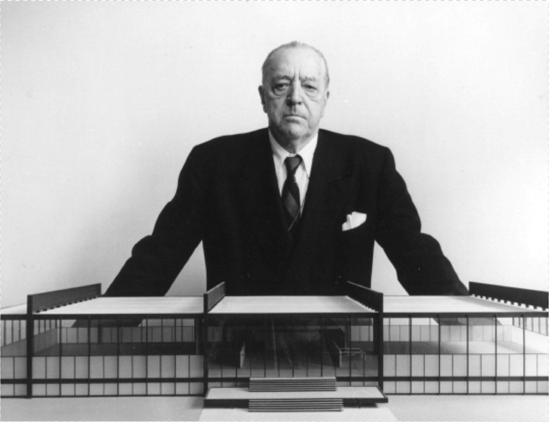 ludwig mies van der rohe google doodle 126 anos. Black Bedroom Furniture Sets. Home Design Ideas