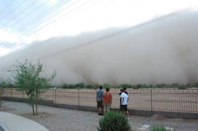 أخطر عاصفة رملية في العالم-منتهى