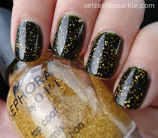 Sephora by OPI It's Real 18K Gold Holiday Nails