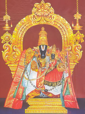 Picture of Lord Hayagreeva Horse Faced Vishnu Avatar