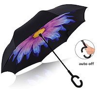 Umgekehrter Regenschirm automatische Doppelschicht