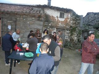 vecinos de valbuena celebran la calvotada