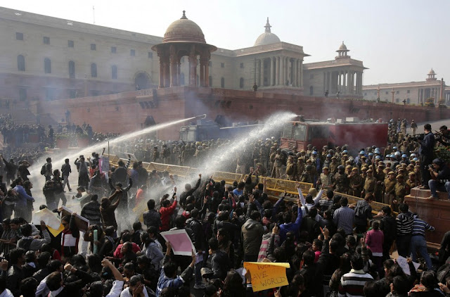 Protest India's Daughter Rape BBC
