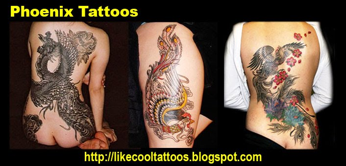 Symbolic Meaning Of Phoenix Tattoos Like Cool Tattoos