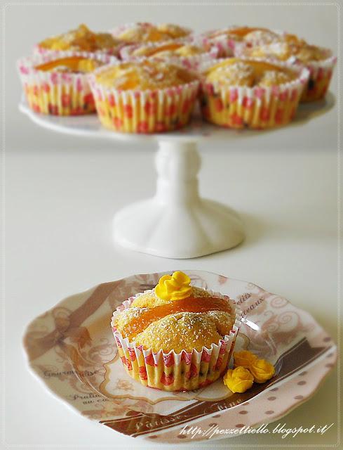 Cupcakes di carote e cioccolato tortini