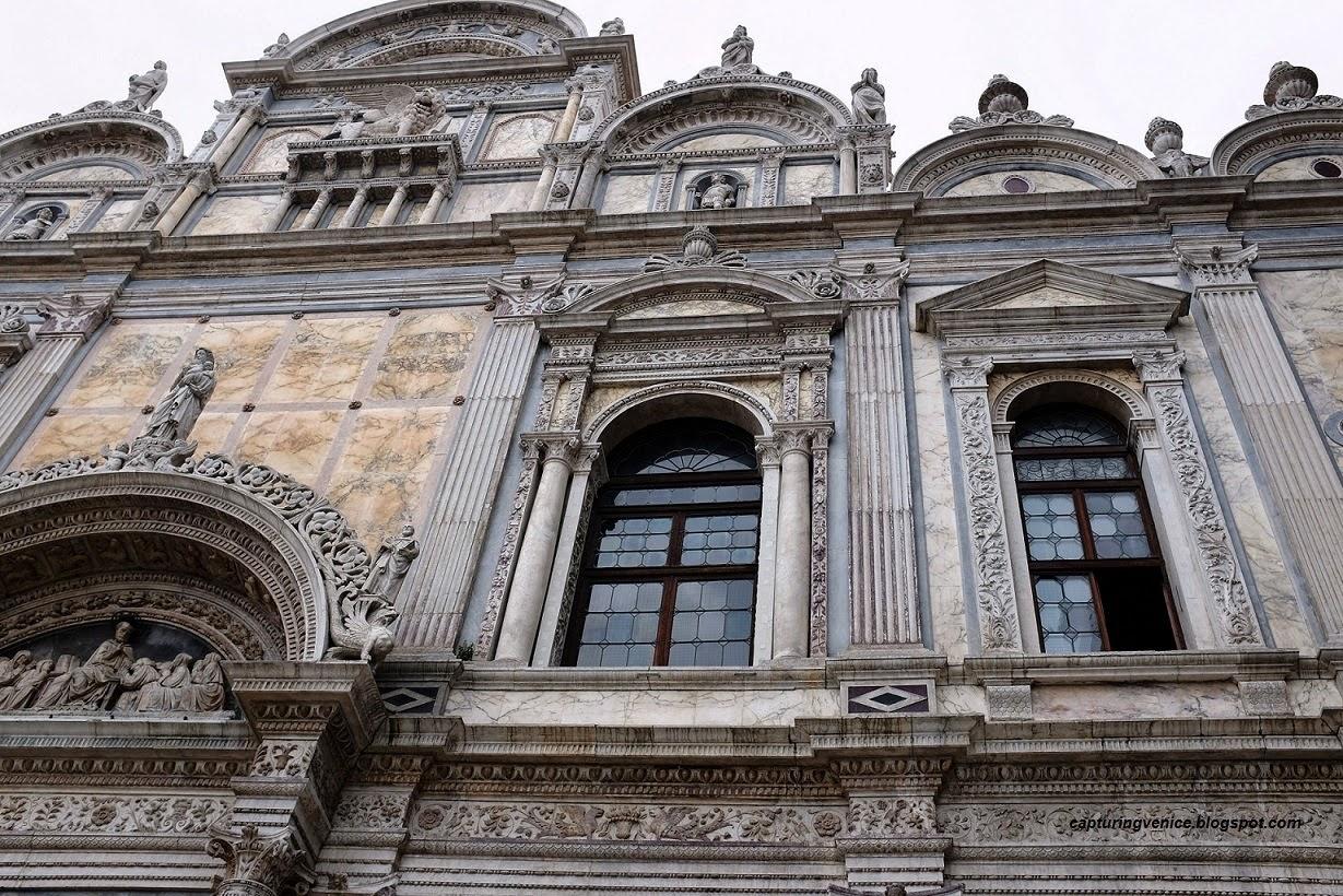 Facade of Scuola di San Marco, Castello, Venice capturingvenice.blogpsot.com