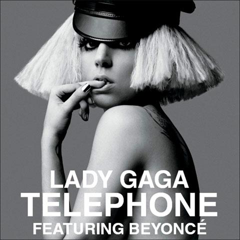 Gaga telephone lady