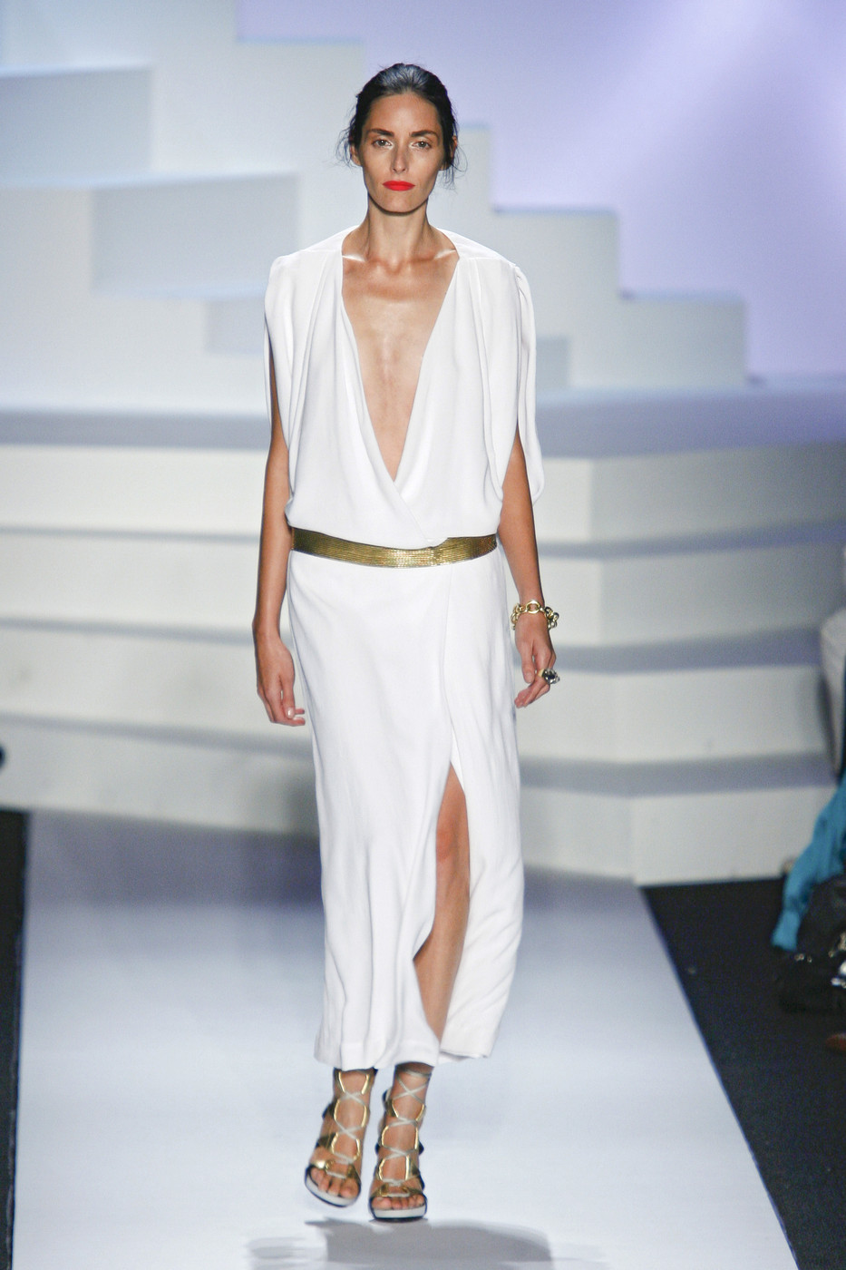 via fashioned by love | Diane von Furstenberg Spring/Summer 2011 White