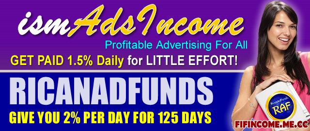 IsmAdsIncome 1.5% Per Day For 200 Days