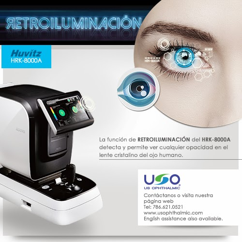 Auto Refractor / Keratometer HRK-8000A UU Ophthalmic