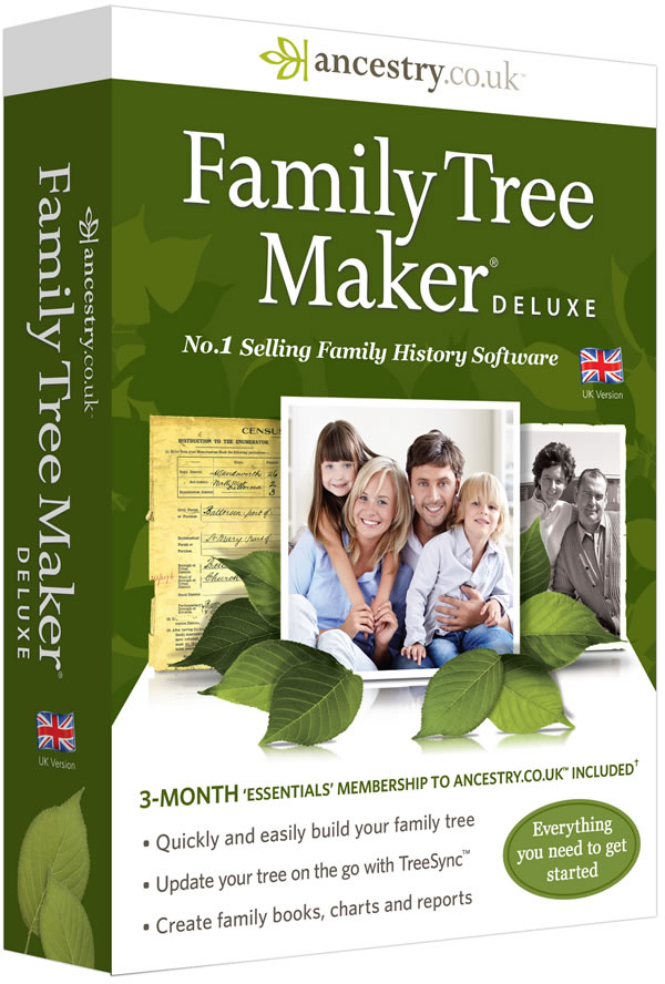 Family Tree Maker Complete 2014 FULLY Activated Image