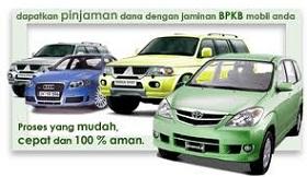 Pinjaman Dana Tunai Jaminan BPKB Mobil dan motor