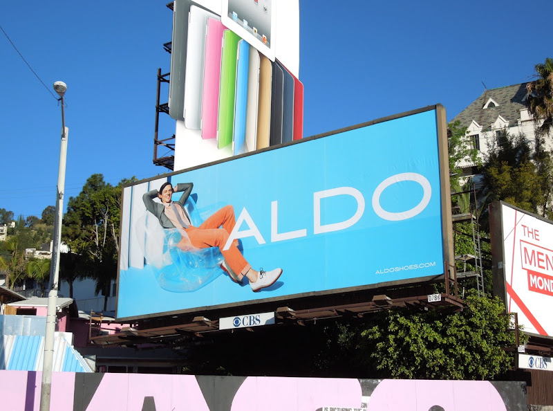 Aldo Shoes Mat Gordon billboard