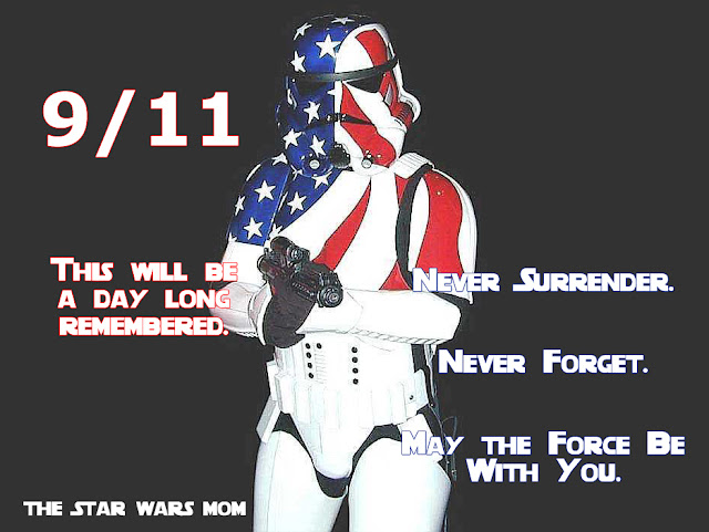 9/11 Star Wars Patriotic Stormtrooper