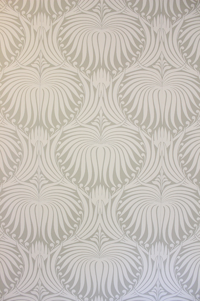 This Is The Farrow Ball Lotus BP 2009 Wallpaper And I Have To Say Its Undoubtedly My Favorite Wall In Our Entire House Love It Because A Neutral