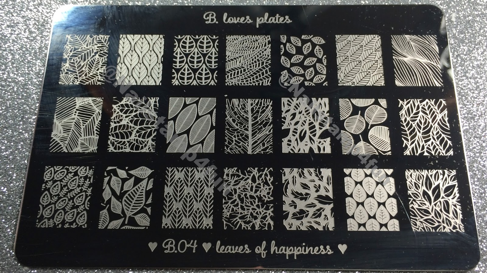 Nail Stamp 4 Fun: B. Loves Plates Review: New Stamping Plate, Nail ...