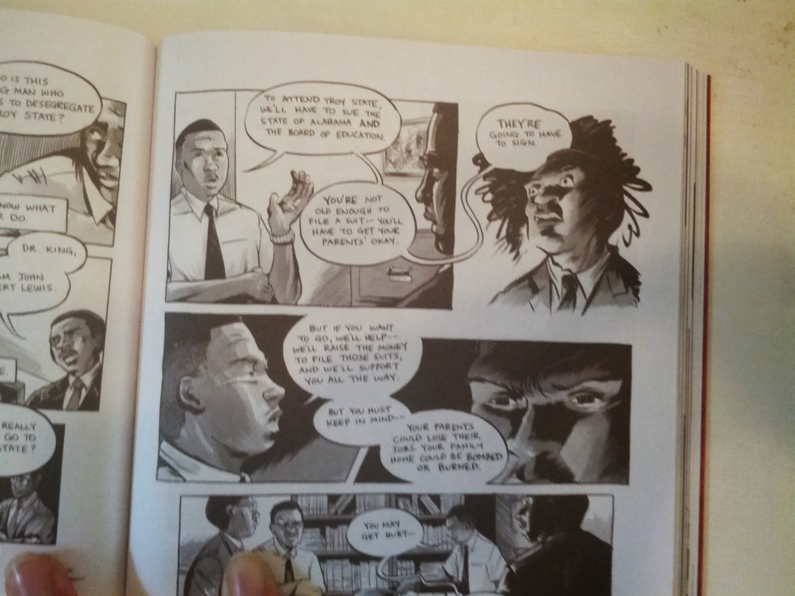 March book one john lewis excerpt