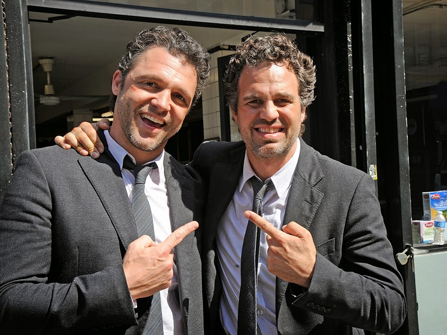 mark ruffalo con su doble
