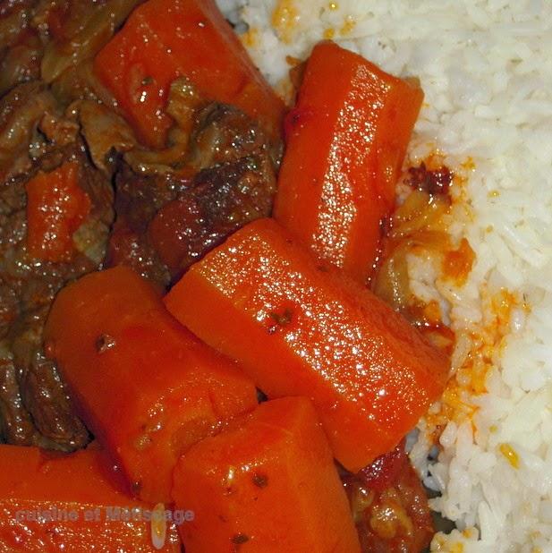boeuf carotte créole réunion