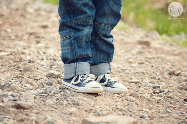 Child Photography Engagement Session Kids Converse Shoes Manchester