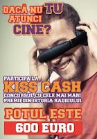 Kiss Cash 2013, al doilea sezon - asculta si castiga!