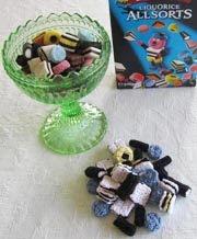 Virkad engelsk konfekt