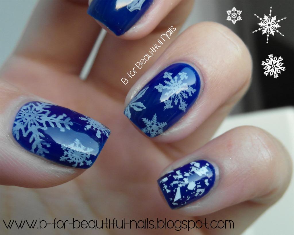 Born Pretty Store Stamping Plate Qa58 My Little Snowflake B