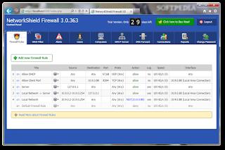 Download NetworkShield Firewall 3.2 Build 427