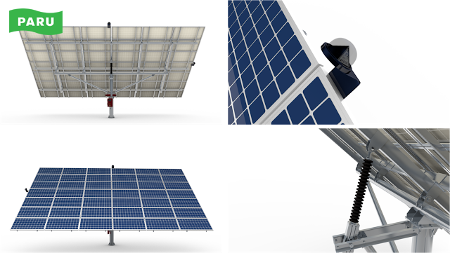 [PARU Solar Tracker] PARU's Dual Axis Tracker_7