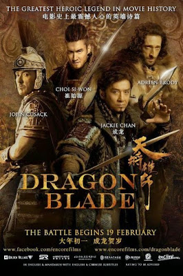 Dragon Blade 2015 Hindi Dubbed DVDScr 700mb
