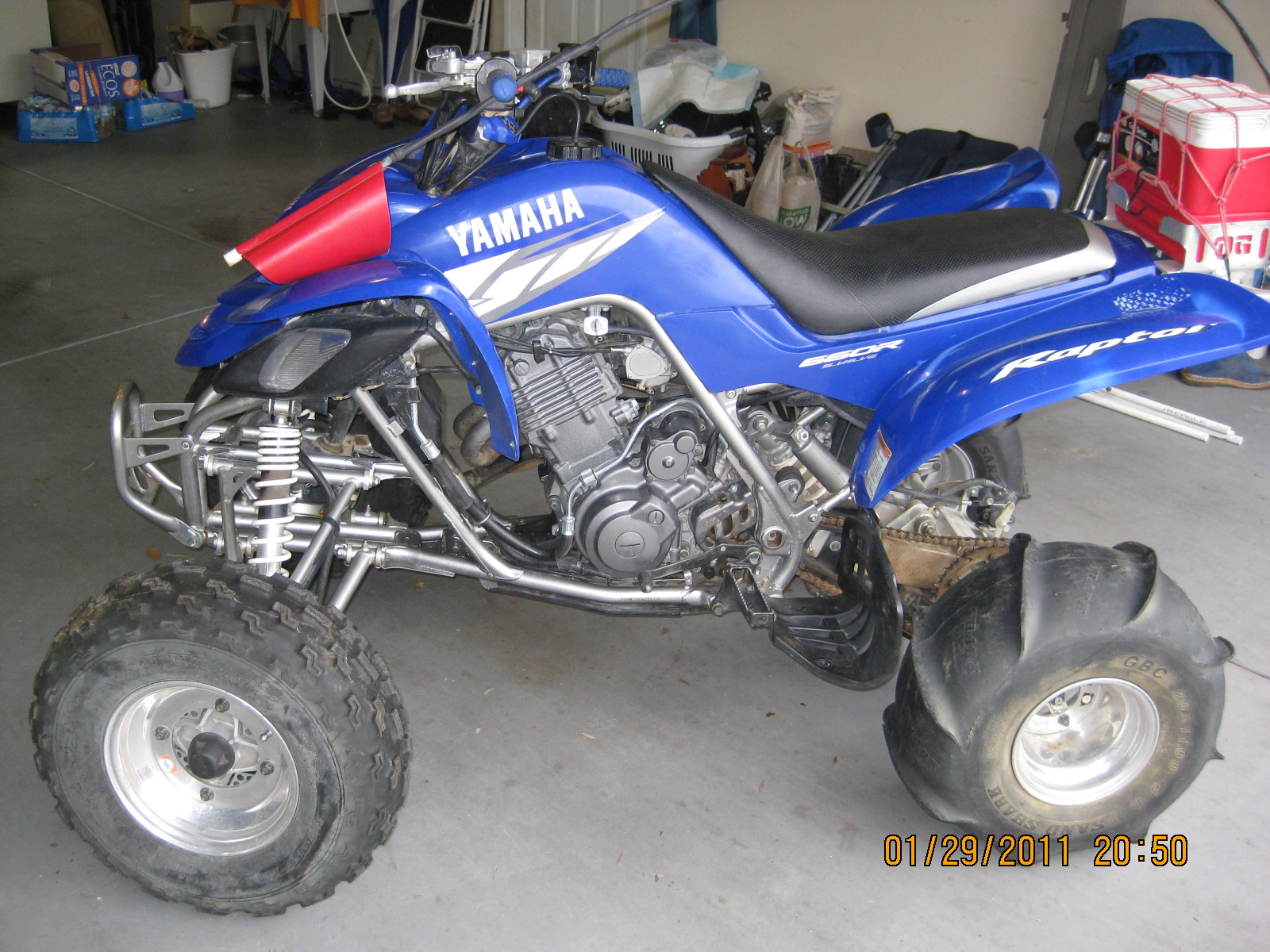 04 yamaha raptor 660 parts motorcycle pictures for Yamaha raptor parts