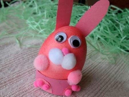 Huevos de Pascua con Materiales Reciclados, II Parte