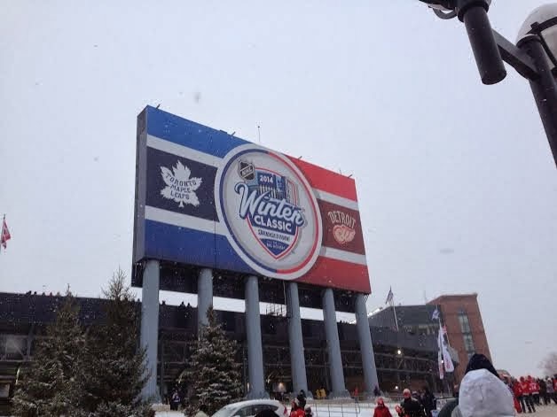 winter classic leafs red wings
