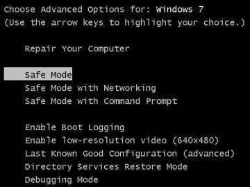 """Reinicie o PC em """"Modo de Segurança"""" (Safe Mode) para auxiliar na remoção de vírus"""