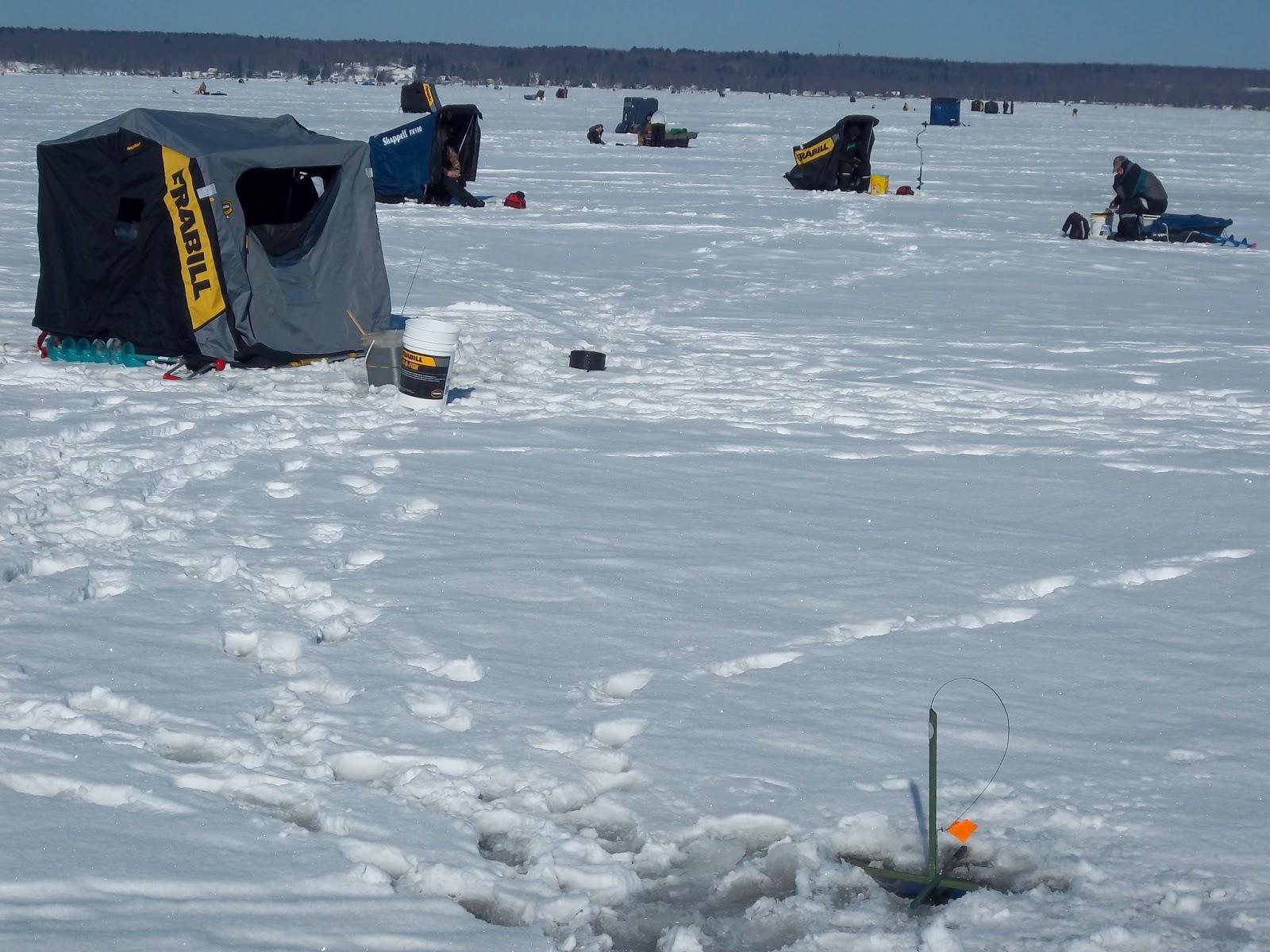Fishing hunting in oswego county ny january 2013 for Ice fishing ny